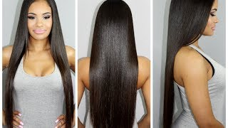 My Hair Care Routine for Long & Healthy Hair (highly requested!) - YouTube