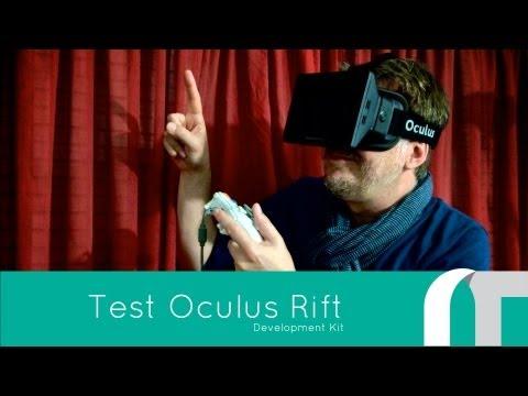 [TEST] Oculus Rift VR Development Kit – French