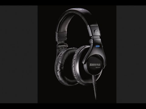 Best Studio Headphones Under $ 100 |Shure SRH440 [2015 Price ]