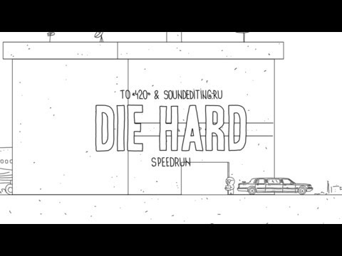 Watch Die Hard Boiled Down Into 60 Seconds Of Zany Animation