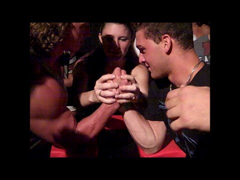 Armwrestling at a Party!