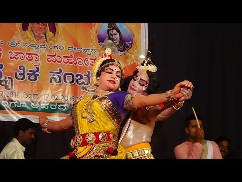 Video Yakshagana -- Radha vilasa - 3 - kanna nOtava....bhamini   kannadikatte download in MP3, 3GP, MP4, WEBM, AVI, FLV January 2017