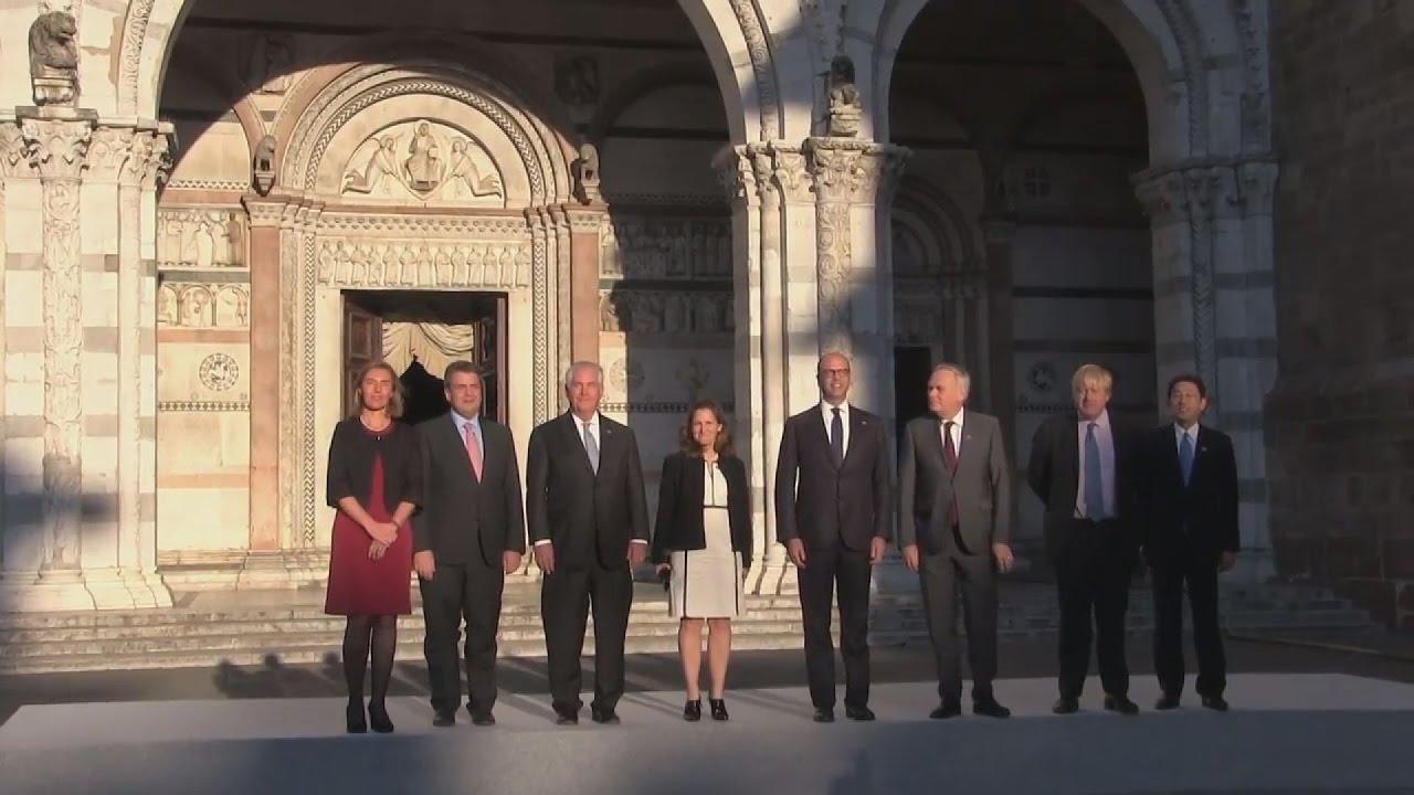 Οι G7 στην Ιταλία