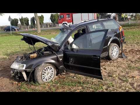 Wideo1: Śmiertelny wypadek w Łuszkowie