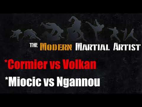 UFC 220 Breakdown [Cormier vs Volkan, Miocic vs Ngannou] - Striking Thoughts