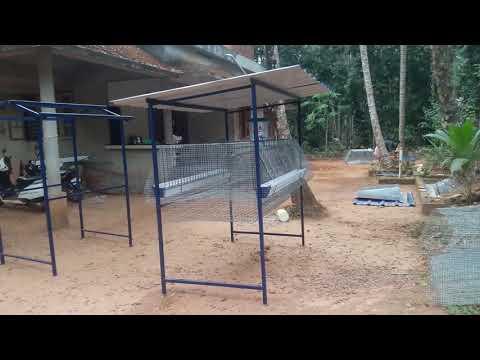 Hi tech poultry cage Supplyers. Kozhikode , Narikkuni , Karukulangara. Mob. 9496901930