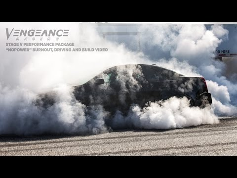 Vengeance Racing CTSV 750RWHP Stage V Performance Package with INSANE BURNOUT and more!!!