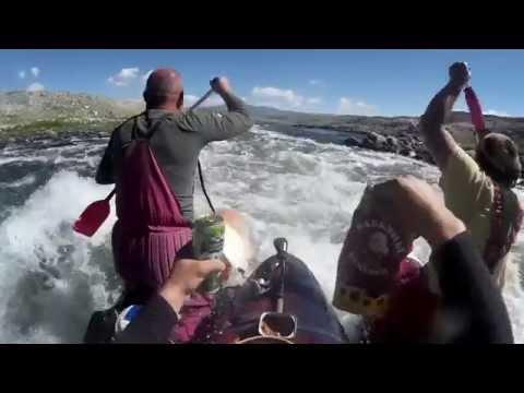 ловля хариуса в монголии видео