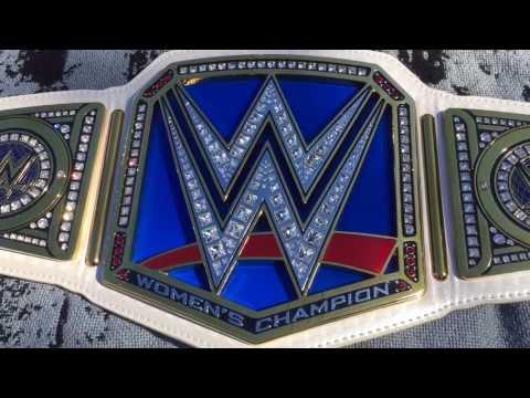 WWE Smackdown Live Women's Replica Championship Restone Review
