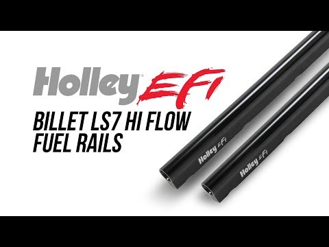 Holley EFI Billet LS7 Hi Flow Fuel Rails