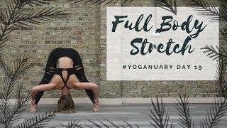Video DAY 19: FULL BODY STRETCH | Yoganuary Yoga Challenge | CAT MEFFAN MP3, 3GP, MP4, WEBM, AVI, FLV Maret 2018