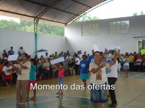 CAMINHADA E CELEBRAÇÃO DE LANÇAMENTO DA CF 2009 AXIXÁ MA