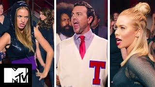 Elizabeth Banks Comments On Pitch Perfect 2 'Butts Riff-Off' | MTV Movies
