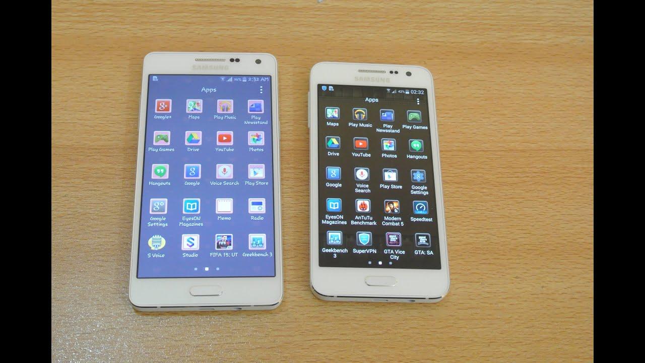 Descargar Samsung Galaxy A5 vs Samsung Galaxy A3 – Apps Opening Speed Test HD para Celular  #Android