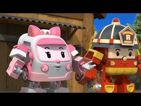 Робокар Поли - Все серии подряд - Сборник HD - Мультики про машинки (видео)