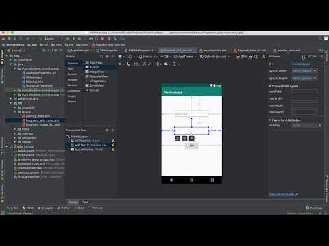 74- Android Note App||    Add record to SQLite-  اضافة سجل