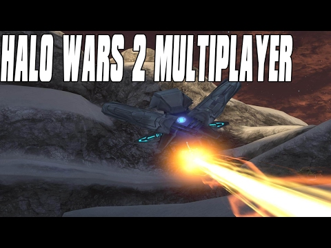 Halo Wars 2 Multiplayer 3vs2 - Sentinel Wars