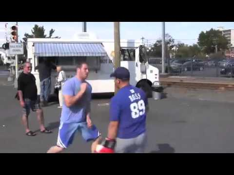 how to - http://howtofightnow.com You can learn how to win a street fight simply by learning how to move your head! If you make your opponent miss, you stay safe and ...