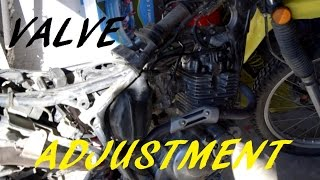 5. Suzuki DR200 Valve Clearance Adjustment Walkthrough