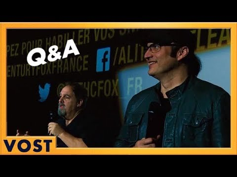 Alita : Battle Angel - Q&A Robert Rodriguez et Jon Landau VOST