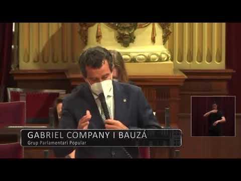 """Company a Armengol: """"El menosprecio de Sánchez hacia usted lo pagamos todos los ciudadanos de Balears"""""""