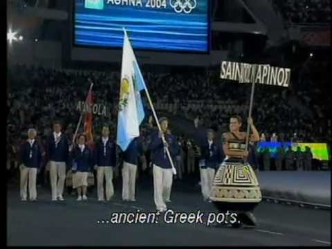 Athens 2004 Olympic Games – Opening Ceremony, English Subs & Greek commentary