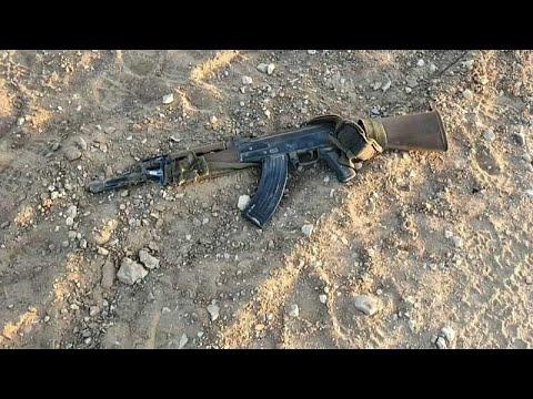 GAZA – 4 terroristes armés de kalachnikovs et d'un lance-roquettes ont été tués
