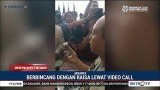 Download Video Raisa Menyemangati Sutopo Lewat Video Call MP3 3GP MP4