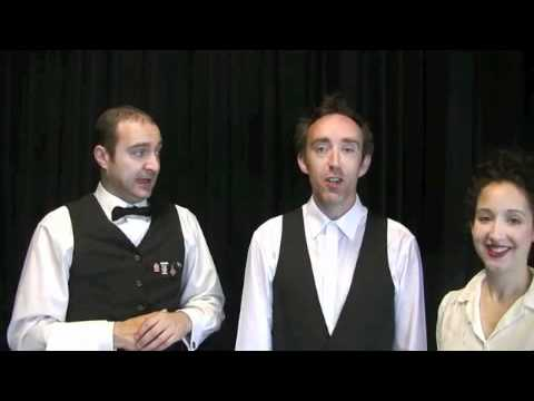 Cafe Kolbert | Comedy Waiters | Front Room Events