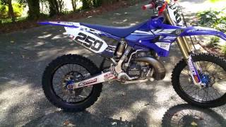 5. My Yamaha YZ250 (Became a 2015 Replica for a while) through the years...