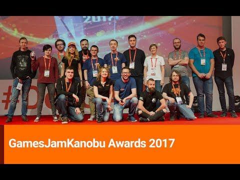 Церемония награждения GamesJamKanobu