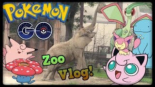 Pokemon Go Vlog! Safari Zone at the Zoo! by Master Jigglypuff and Friends
