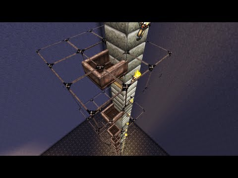 Fastest Elevator in Minecraft