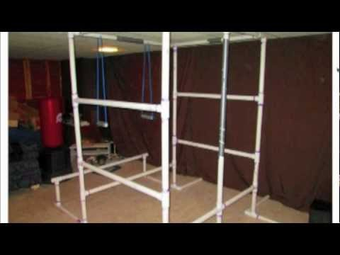 Build Your Own Bodyweight Home Gym With Cheap Pvc Pipe