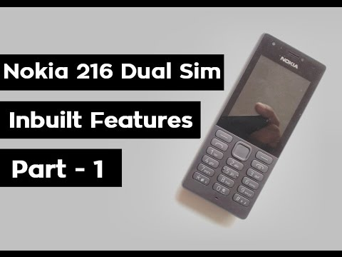 Nokia 216 Dual Sim Review | Unboxing Hands on | Keypad Mobile | Inbuilt Features | 2018 | Part - 1