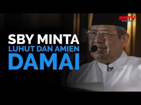 SBY Minta Luhut dan Amien Damai