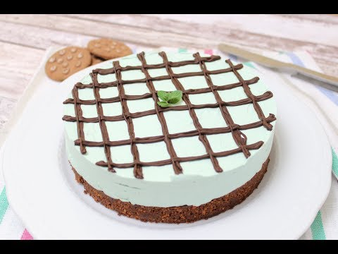 torta fredda alla menta e cioccolato - ricetta