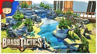 Brass Tactics: THE TABLETOP BATTLEFIELD! (Oculus Rift Gameplay)