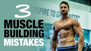 """Hey, skinny guy... Follow this weight gain plan:http://www.weightgainblueprint.com/view/yt13vThese 3 muscle building mistakes easily cost me 20 lbs. of pure lean muscle mass, and I really don't want you to make the same mistakesThis is a really important video, so for all you A.D.D. mofo's that need non-stop entertainment I wanted to really spice things up in this video so I took my brand new drone outside while I share my 3 savage muscle building killers.My homie Tai Lopez always says that we should all learn from mistakes, but they don't have to be your own mistakes. Much better to learn from the mistakes of people who have already gone through the ups and downs!This might be the most important video that I've ever made for you, as you need to make sure you are not making ANY of these 3 muscle building mistakes if you want to grow lean muscle mass fast.Seriously, these mistakes are like committing """"muscle-building suicide"""" and you will make it nearly impossible to make fast progress - especially being a naturally skinny guy.This video topic came up accidentally because when I first purchased my drone the best video I saw was about this guy talking about the 3 biggest mistakes he made with his drone.Remember, you only need 3 things to happen for your body to build lean muscle mass, and coincidently enough they all go back to the 3 biggest mistakes that I talk about in the video.1. You need to have enough hormones circulating in your blood stream, so doing compound exercises, eating right, and sleeping well are going to be vital.2. You need enough amino acids and protein in your blood stream.3. You need enough atp/energy as muscle building is a very """"expensive"""" process for your body. Make sure you watch the video as I talk about this in depth!See the full blog post here:  http://www.weightgainnetwork.com/how-to-build-muscle/these-3-muscle-gaining-mistakes-cost-me-20-lbs-of-muscle.phpThe 7 Hardgainer Mistakes That Are Keeping You Skinny:★ http://www.weightgainbluepri"""