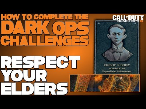 "New Blackout Dark Ops Challenge Discovered!  How To Do The ""Respect Your Elders"" Dark Ops Challenge"