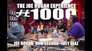 Joe Rogan Experience #1000 - Joey Diaz & Tom Segura