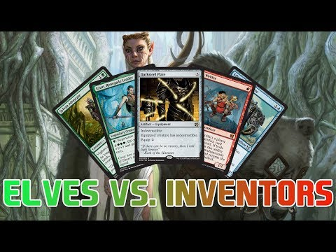 The Last Duel Decks: Elves vs. Inventors! Deck lists & First Impressions!