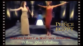 "Mariah Carey & Whitney Houston ""When You Believe"" [Church Version HQ], Prince of Egypt"
