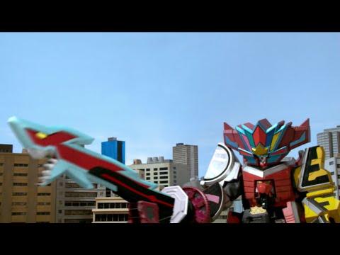 Enter Samurai Shark Megazord!