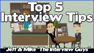 Interview Tips U2013 The Top 5 Job Interview Tips  Job Interview Tips