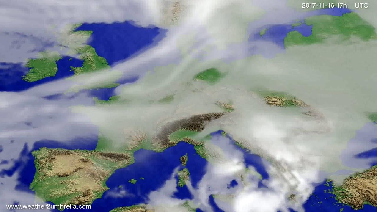 Cloud forecast Europe 2017-11-14