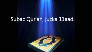 Subac Quraan Oo Kaamil Ah, Juzka 11aad
