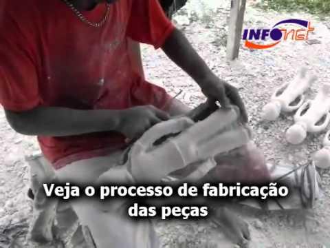processo d efabricação de peças de gesso 23/09/2010