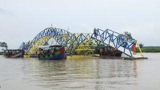 Cilacap Indonesia  city photo : Begini cara menarik jembatan apung pertama Indonesia di Cilacap