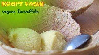 Vegane Eiswaffeln - Eiswaffeln Selber Machen - Vegane Rezepte Von Koch's Vegan